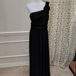 Dress 2XL One Shoulder Party Cocktail Maxi LBD